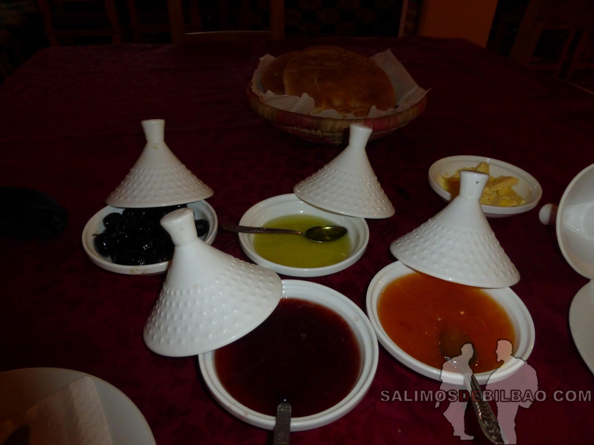467. Desayuno en Hotel La Baraka, Kasbah Ait Ben Haddou