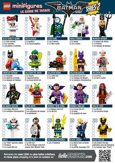 Collectible Minifigures The LEGO Batman Movie Series 2 (71020) - Guide de tâtage HelloBricks