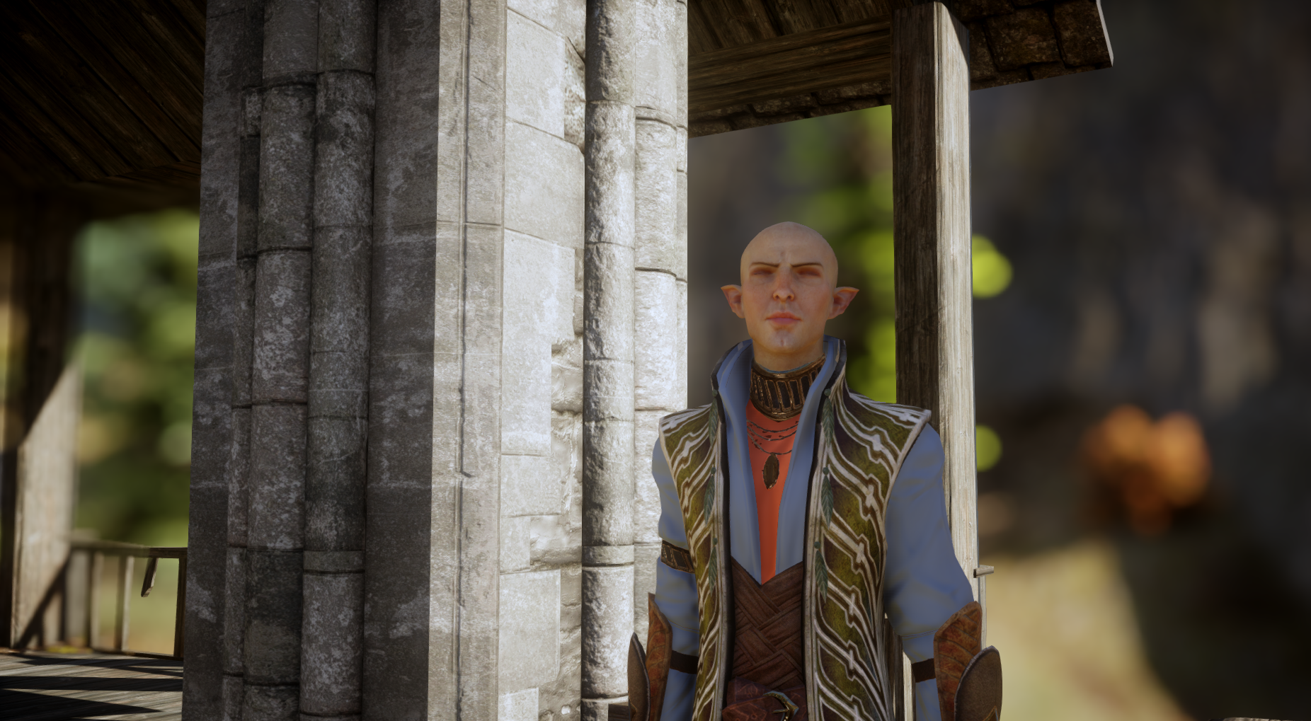 Chapter 33 Solas does not like his armor