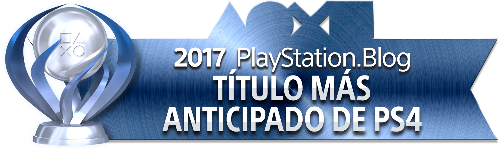 PlayStation Blog Game of the Year 2017 - Most Anticipated PS4 Title (Platinum)
