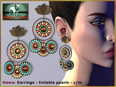Bliensen - Hawa - Earrings