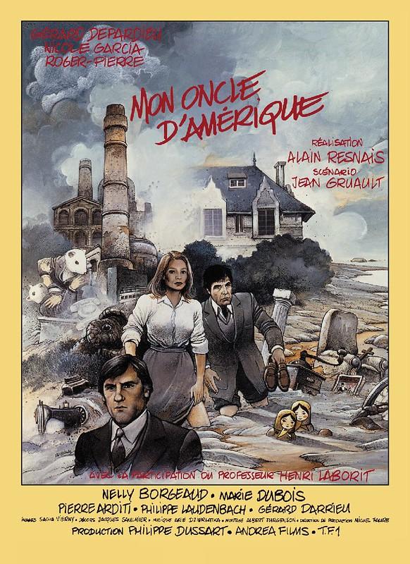Mon Oncle d`Amerique - Poster 2