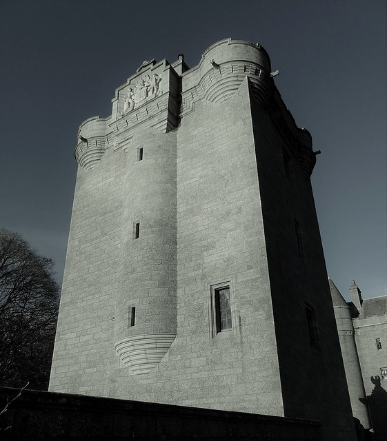 Do It With Thy Might - Dunecht Tower House
