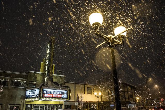Snowy Dinkytown
