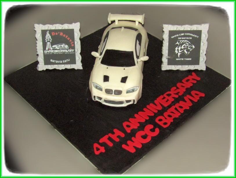 Cake Anniver WCC BMW GT3 15 cm