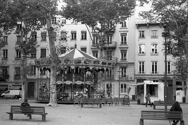 Lyon, Place Lyautey (Pentax P30)