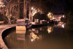 FR10 1030 Quai Edmond Combes. Le bassin du canal du Midi. Castelnaudary, Aude, Languedoc