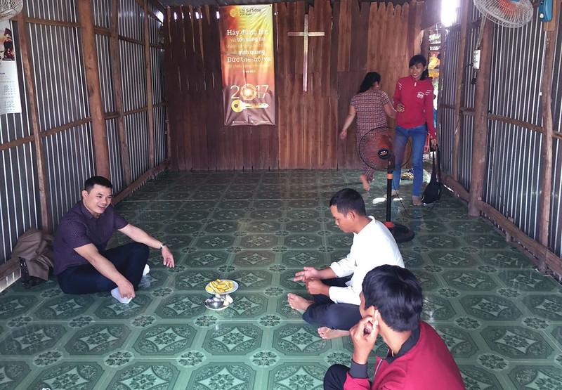 Buổi thông công tại Kiên Giang