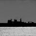 HMS Ocean entering Plymouth