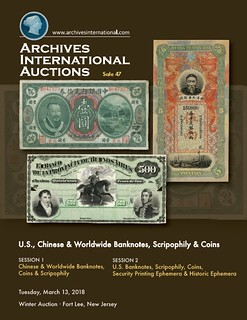 Archives International Sale 47 cover front