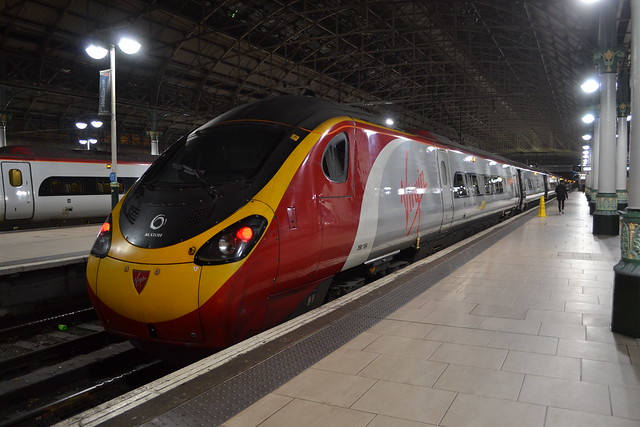 Virgin Trains Pendolino 390154 Matthew Flinders