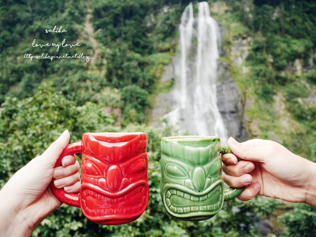 新北一日遊烏來老街瀑布景觀咖啡推薦泰雅馬告