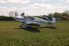 G-AYHX Jodel D.117A [903] Popham 020509