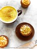 Golden Latte Cupcakes by Bitter-Sweet-