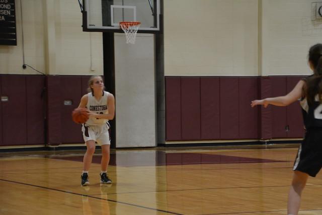 girls basketball vs. Strath Haven JV