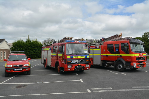 Galway County Fire Service Mountbellew Fire Brigade Front Line