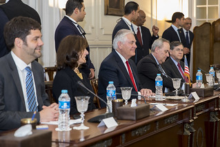 Secretary Tillerson Participates in a Bilateral Meeting With Egyptian Foreign Minister Shoukry