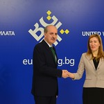 """High-level Meeting of the Ministers of Tourism of the EU member states """"Tourism and economic growth"""": Handshake"""