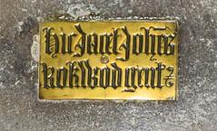 hic jacet Johanes Rokwod gent