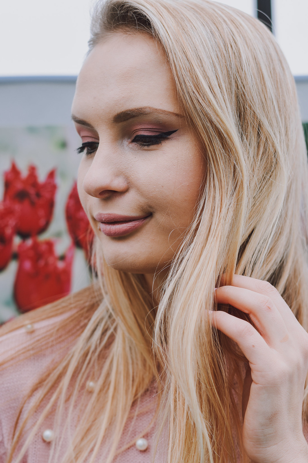 Latvian beauty blogger