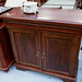 Mahogany 2 door 2 drawer sideboard E140