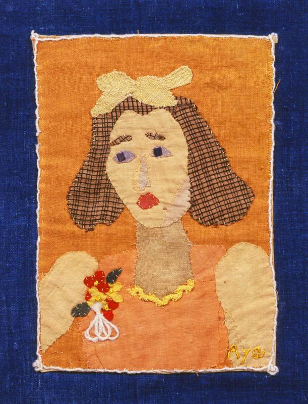 《貞子さん》(1954年、個人蔵)