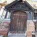 Door into St Helens On the High street Worcester 2018