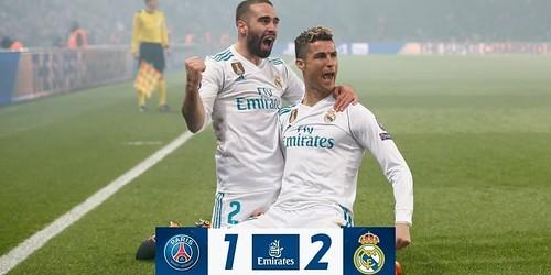 Cuplikan Gol – PSG 1-2 Real Madrid – 06 Maret 2018 – Liga Champions