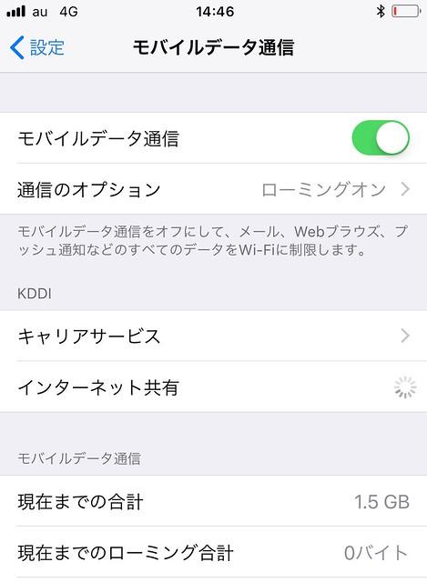 UQ mobile iPhone 8 plus