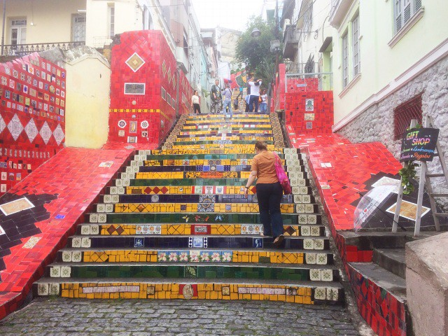 escadaria selaron 3 obiective turistice rio de janeiro