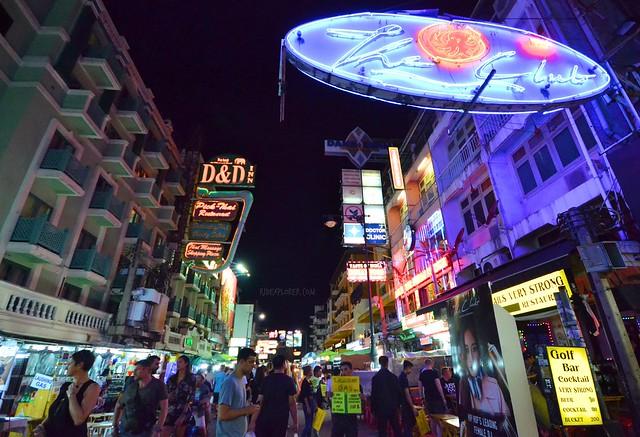bangkok itinerary khao san road