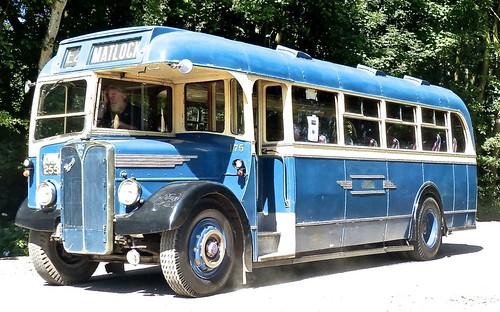 KRR 255 'Midland General Omnibus Company'. No. 175 AEC Regal 3 / Weymann on 'Dennis Basford's railsroadsrunways.blogspot.co.uk'