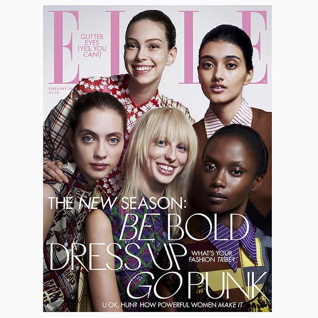 ELLE magazine February 2018