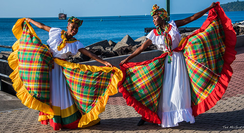 2017 - Regent Cruise - Grenada - Melville Street Cruise Terminal Dock