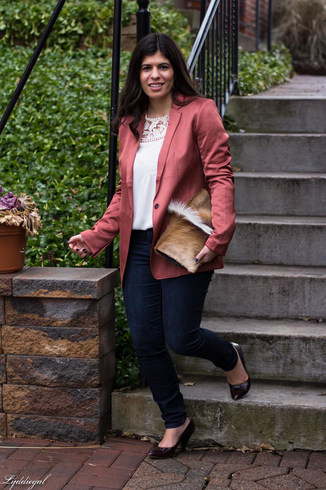 rust silk boyfriend blazer, springbok clutch, lace blouse-14.jpg