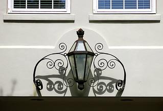 Light and shadow: Kahal Kadosh Beth Elohim, 90 Hasell Street, Charleston, SC