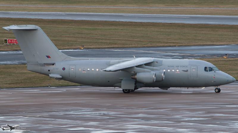 ZE707 HS146 RAF