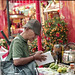 Chinese New Year market - Waterloo street- Singapore