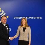 Informal Meeting of EU Tourism Ministers: Handshake