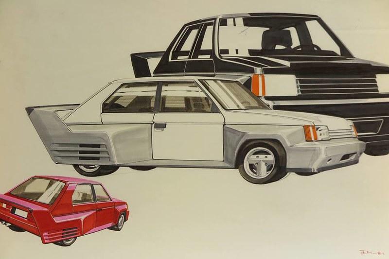 1981 Valmet's Talbot Horizon