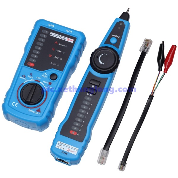 Đồng hồ kiểm tra cáp mạng và cáp điện thoại  BSIDE FWT11