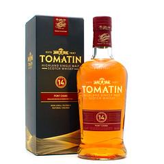 TOMATIN SCOTCH-14yr port cask