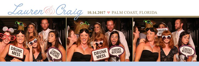 hammock beach resort wedding photobooth, palm coast florida