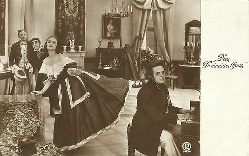 Anita Berber in Das Dreimäderlhaus (1918)