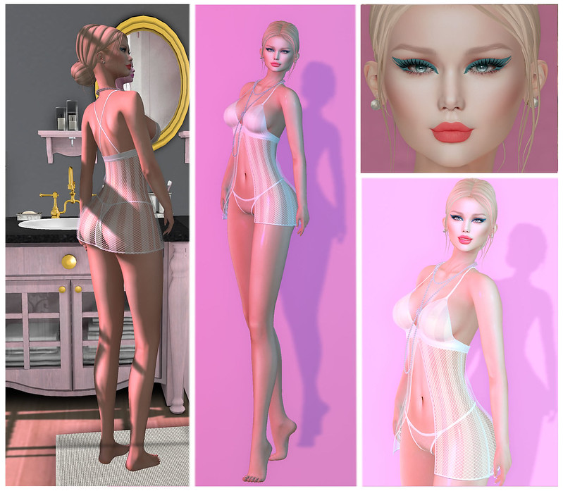 038 ♥Ellie Babydoll   ♥Look Me Female Poses   ♥GRAPHIC LINER MAKEUP