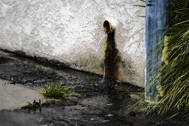 Rain runoff