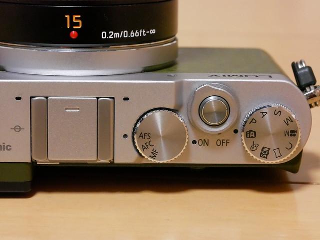GM5 Aluminum Dial