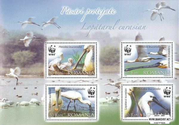 Známky Rumunsko 2006 Vtáci, nerazítkovaný hárok