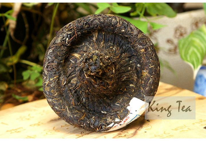 2017 XiaGuan FT BaoYan JinCha Mushroom Tuo 250g Raw Tea Sheng Cha