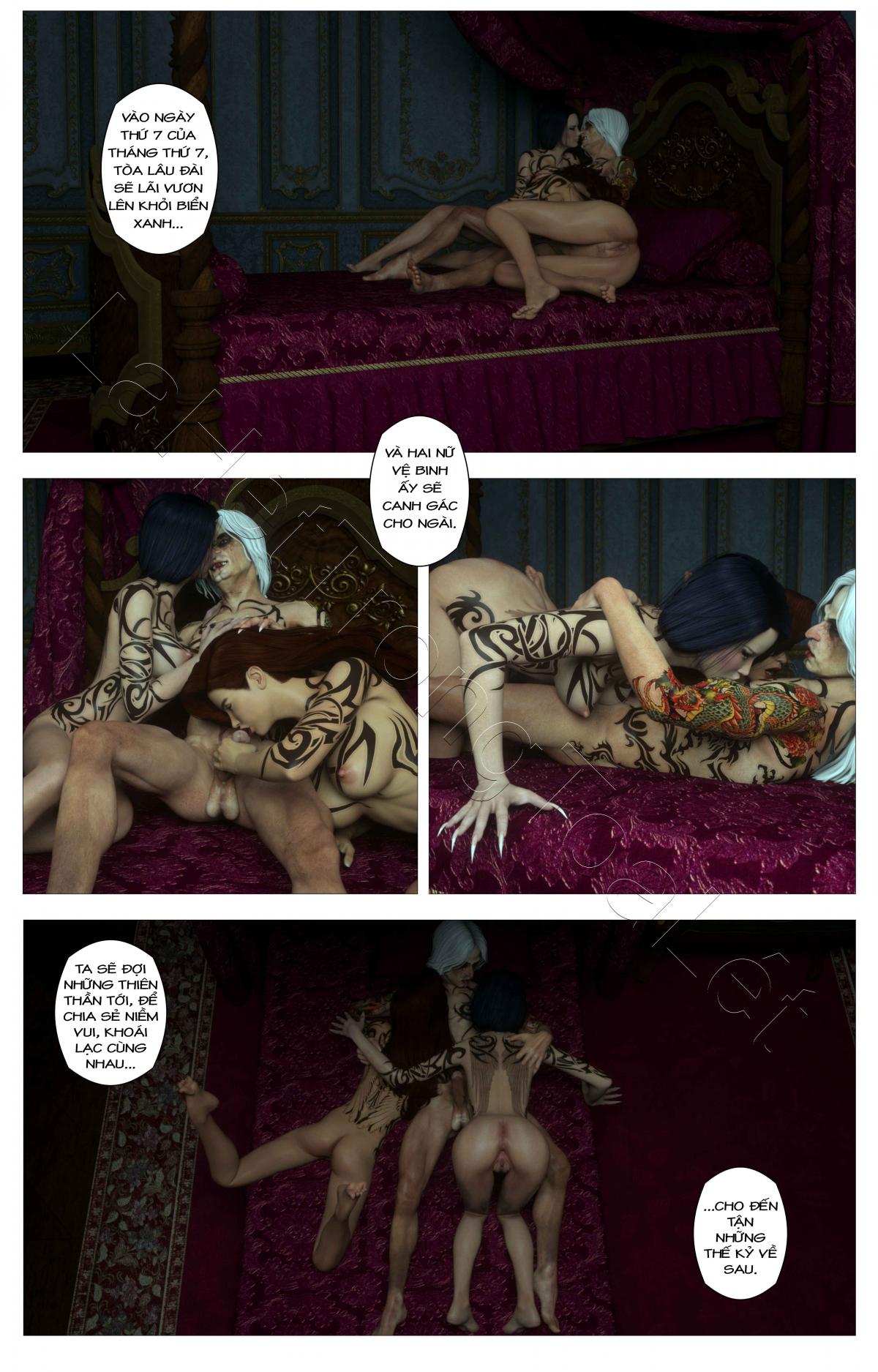 HentaiVN.net - Ảnh 17 - Tòa lâu đài bí ẩn: lời nguyền của Caritagua - Crypt Raider: Curse of Caritagua, Crypt Raider - Tập 5